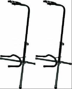 2-OnStage-XCG4-Tripod-Guitar-Stand-MAKE-OFFER-Blow-out-sale