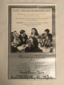Metropolitan-1990-Original-One-Sheet-Poster-Westerly-Films-Archive-Whit-Stillman