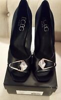 Bcbg Paris Black 9m Avent Heels