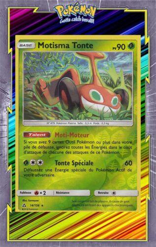 Carte Pokemon Neuve Française Motisma Tonte Reverse-SL05:Ultra Prisme 14//156