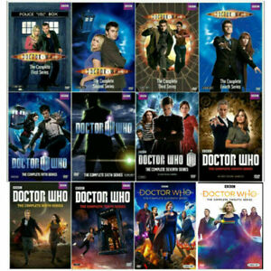 Doctor-Who-Complete-Series-Season-1-12-DVD-Set-Free-Shipping-New-Season-12