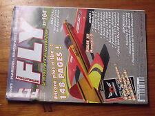 $$w Revue Fly International N°164 Plan encarte Sukhoi 31  JetMach 60  Futaba 10C