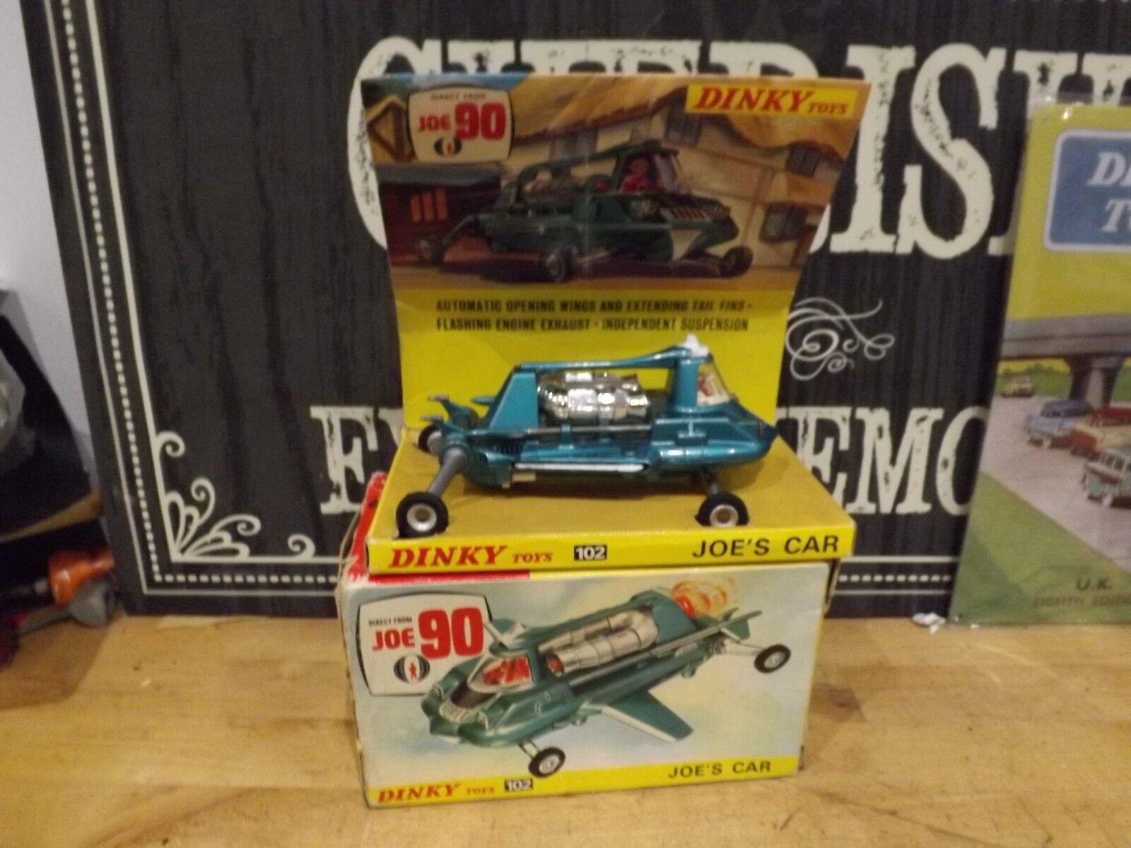 Dinky Toys 102 Joe's Car original y en caja Gerry Anderson's Joe 90