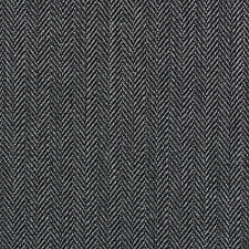 Holland and Sherry Medium Grey Narrow Herringbone All Wool Suiting - 3.50 Mtrs