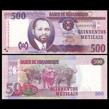 Mozambique 500 Meticais, 2011, P-153, UNC