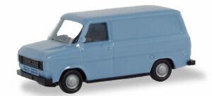 Herpa-Basic-094863-Ford-Transit-Box-Pastel-Blue-Model-1-87-H0