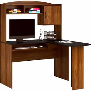 Amazing Image Is Loading Mainstays L Shaped Computer Desk W Hutch Slideout