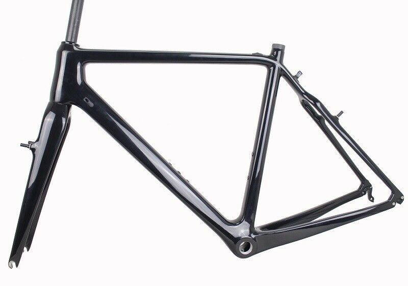 50 52 54 56 58cm Carbon CX Cyclocross Bike Bicycle Frame&Fork UD Matt Glossy BSA