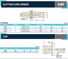 Cat40 Semi Flush 1 Hole Slitting Saw Arbor 4 Gage Length By Yg1