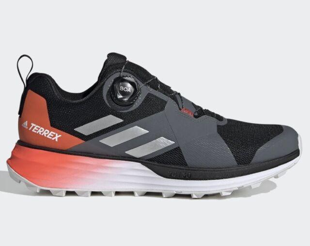 Brand New Men's Adidas TERREX TWO BOA TRAIL RUNNING SHOES Sz 12.5