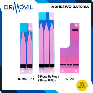 Adhesivo bateria para iPhone 6 6s 7 8 6 Plus 6s Plus 7 Plus 8 Plus X XS Montaje