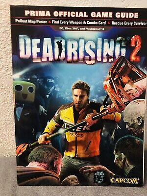 Dead Rising 2 Official Prima Strategy Guide 9780744013511 Ebay
