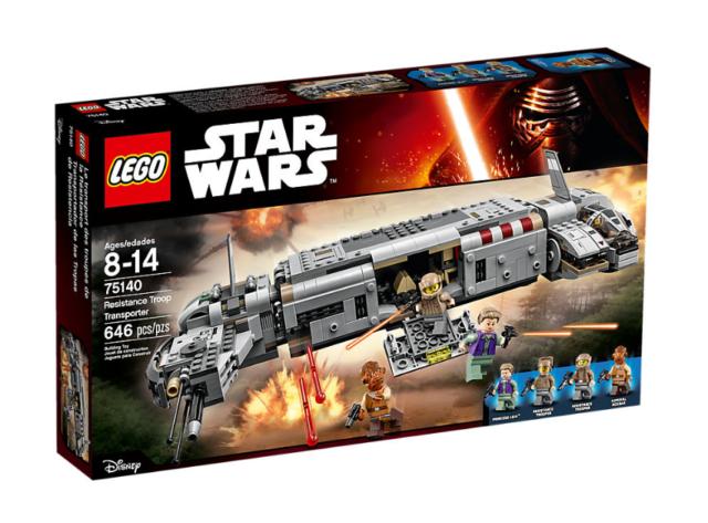 LEGO STAR WARS RESISTANCE TROOP TRANSPORT SET 75140  NUEVO