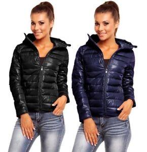 Giubbino-100-grammi-donna-cappotto-giacca-PIUMINO-Leggero-corto-primaverile