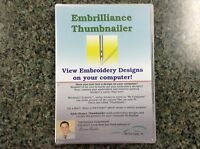 Embroidery Designs Embrilliance Thumbnailer Embroidey Software-win/mac Download