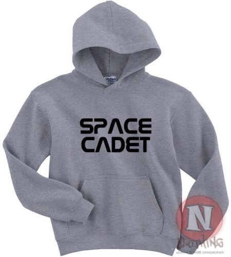 Space cadet Hoodie kids Adults top Hoody funny teen slang NASA teenager