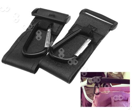 2PCS Nützlich Baby Kinderwagen Spaziergänger Karabinerhaken magische Hänger