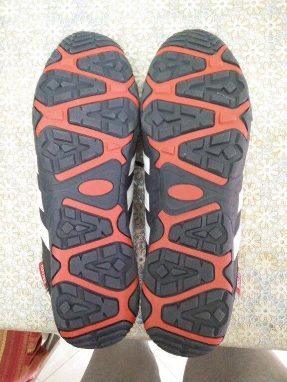 SCARPE scarpe ADIDAS DAROGA N° 44 - ANTRACTITE ANTRACTITE ANTRACTITE INSERTI ROSSO - UNICO PEZZO NUOVO 67f531