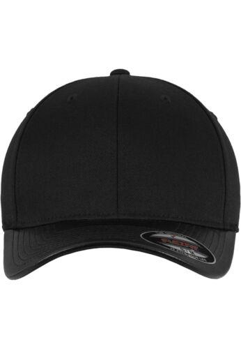 Flexfit Carbon /& Leather Imitation Peak Cap 6277 Baseball Cap