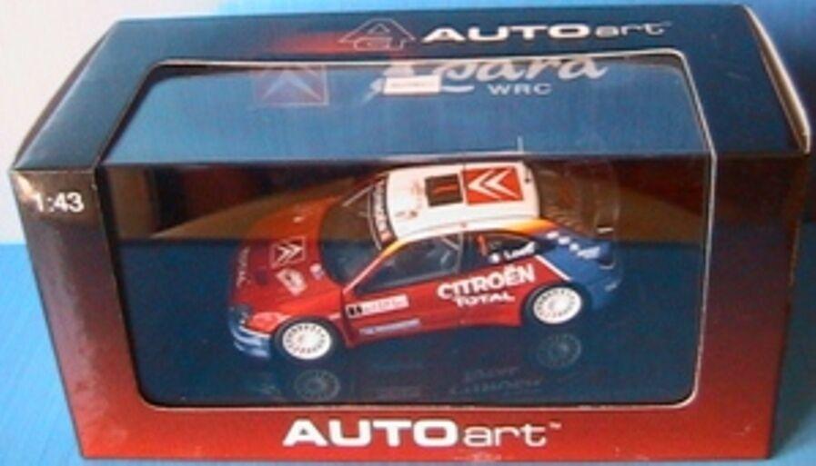 Citroen xsara wrc winner monte carlo rally 2005 loeb Elena 1 43 autoart 60537