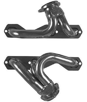 Chevy CV95 90° Chevrolet V6 Plain Steel Exhaust Headers