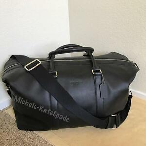 411edd5493 Details about    SALE   NWT COACH Men s Voyager 52 Sport Calf Leather DUFFLE  Travel Bag F54802