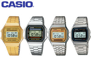 4f36f79de Casio Original Unisex Classic Retro Digital Watch In Stainless Steel ...