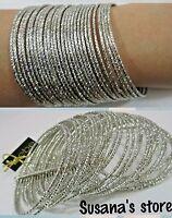 Bebe Shine Connected Bangle Cuff Bracelet Msrp $45+ Sparkling Bracelet