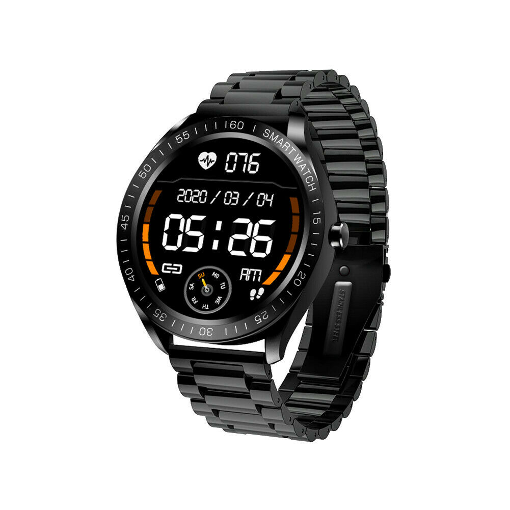 Men's Luxury Smart Watch Fitness Tracker Sport Remote-Camera for iPhone Android android Featured fitness for iphone luxury smart sport tracker watch