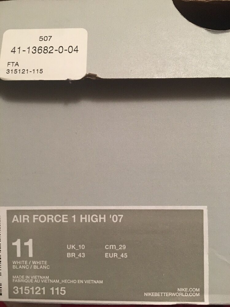 Mens Air Force 1 Olive Green size 11 brand new