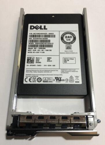 "Samsung 0PGNR3 240GB SSD 2.5/"" SATA Model PGNR3 MZ-7KM240A DP//N"