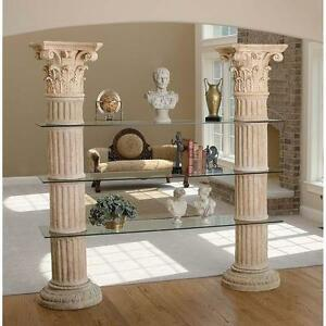 79 Corinthian Columns Display Shelves Furniture Ebay