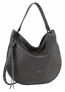 Hobo Klara Borse Bag donna Tom Marche Shopping da tracolla Tailor a Grigio Bag rngrBCwWqx