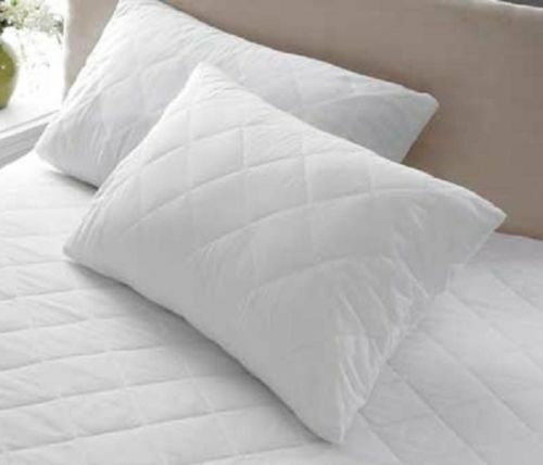Luxury Quilted Pillow Protectors or terry towel pillow protector waterproof