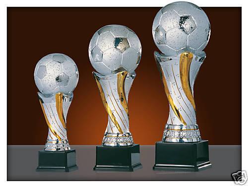 Gravur Pokale 3er Fußball-Serie Inkl 81-23-25