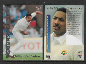 PHILLIP-DEFREITAS-England-1994-FUTERA-ASHES-SUPER-SERIES-CRICKET-CARD-SS32