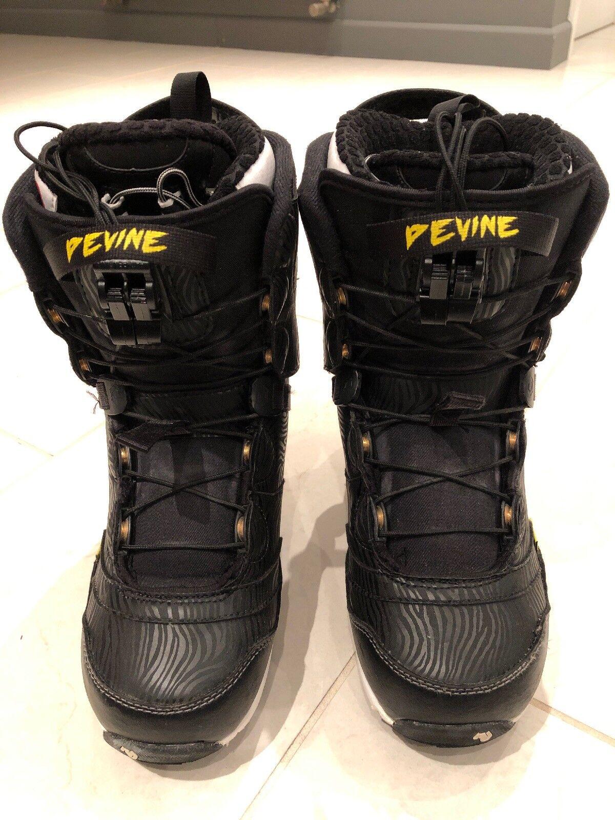 Northwave Devine Women's Ladies Girls Snowboarding Boots Size 6 39 25