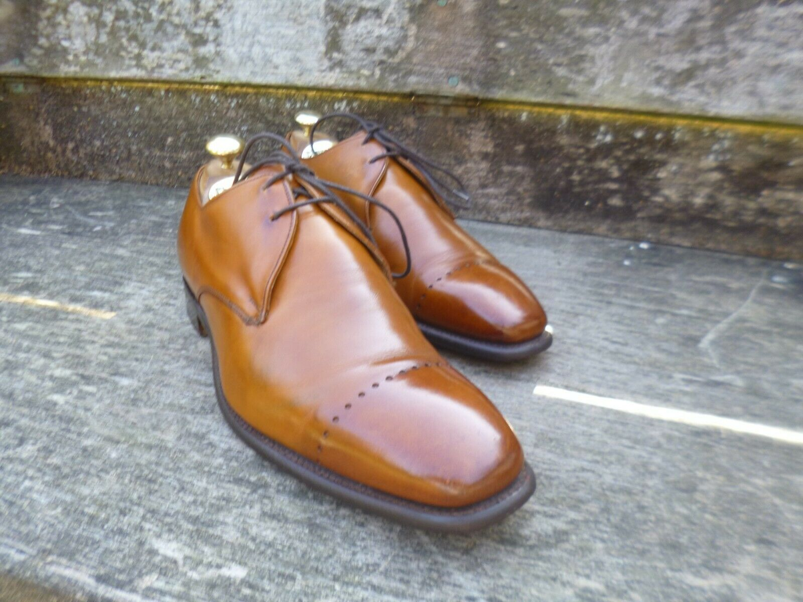 CHEANEY GIBSON – braun   TAN – UK 7.5 – MEL – EXCELLENT CONDITION