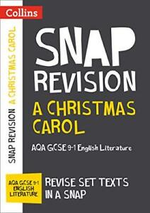 A Christmas Carol: AQA GCSE 9-1 English Liter by Collins GCSE New Paperback Book