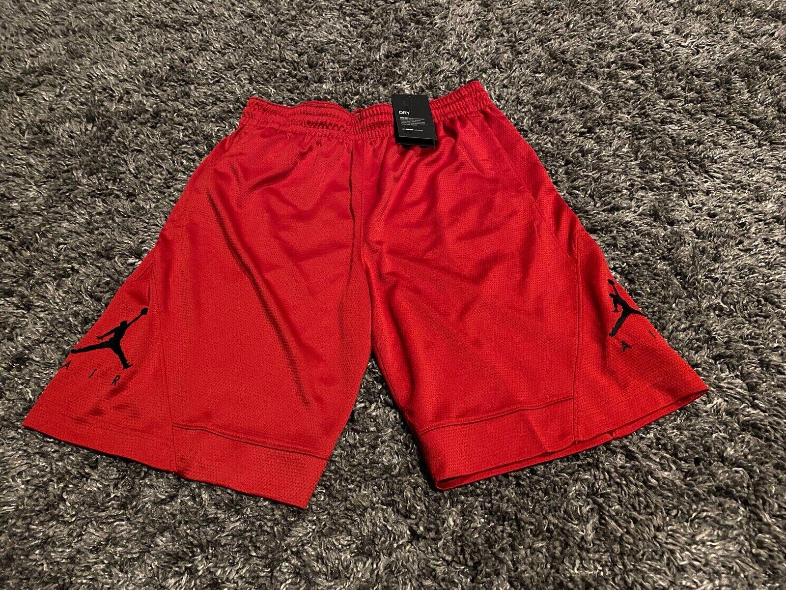Air Jordan Boy Tee /& Shorts Set ~ Gray Black Red /& White ~ Last Shot ~ Dri-Fit