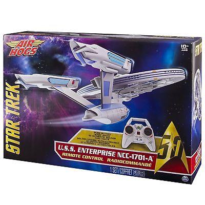 - Air Hogs 6027406-star Trek Uss-ncc1701-a - Enterprise Telecomando -.-mostra Il Titolo Originale Adottare La Tecnologia Avanzata