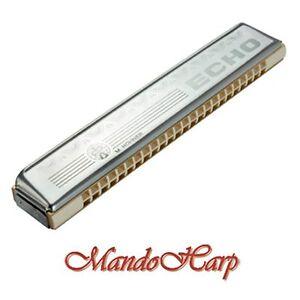 Hohner-Tremolo-Harmonica-2509-48-C-Echo-48-Tremolo-48-Reeds-NEW