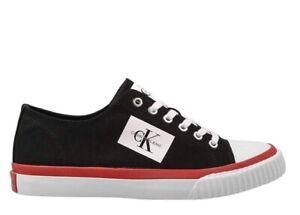 Scarpe-da-uomo-Calvin-Klein-Jeans-S1731-casual-sportive-basse-sneakers-in-tela