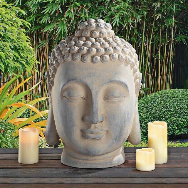 Diffusers Porcelain Zen Garden Yoga Meditation White Thai Buddha Head Statue Oil For Sale Online Ebay