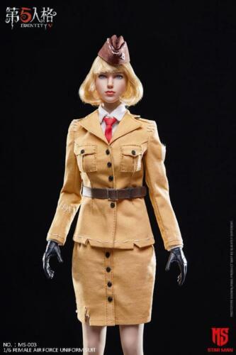 1//6 STAR MAN MS-003 Female Air Force Uniform Clothing Suit Fit 12/'/' Figure Toy