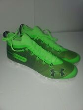 Mens Under Armour Spotlight Suede Mc Football Lacrosse Cleats Yellow Sz 9 M For Sale Online Ebay