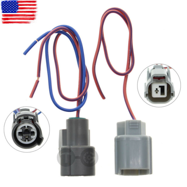Michigan Motorsports VTEC Oil Pressure Switch Connector and VTEC Solenoid Plug Pigtail Kit Fits Honda Civic Prelude