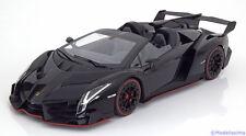 1:18 Kyosho Lamborghini Veneno Roadster 2014 black