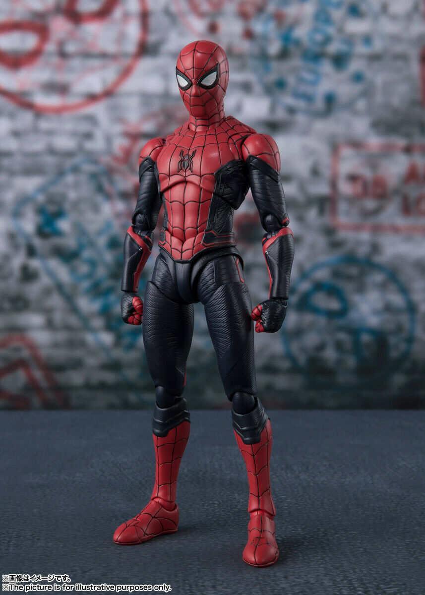 S.H. Figuarts Spider-Man Upgrade Costume (Spider-Man  Loin de chez eux) Japan version