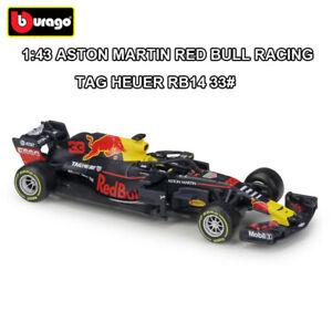1-43-ASTON-MARTIN-RED-BULL-RB14-FORMULA-F1-Max-VERSTAPPEN-DIE-CAST-CAR-MODEL-33